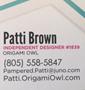 Orgami - Patti newsletter